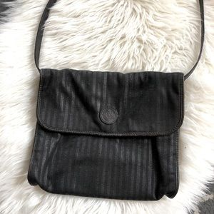 Vintage Fendi leather crossbody